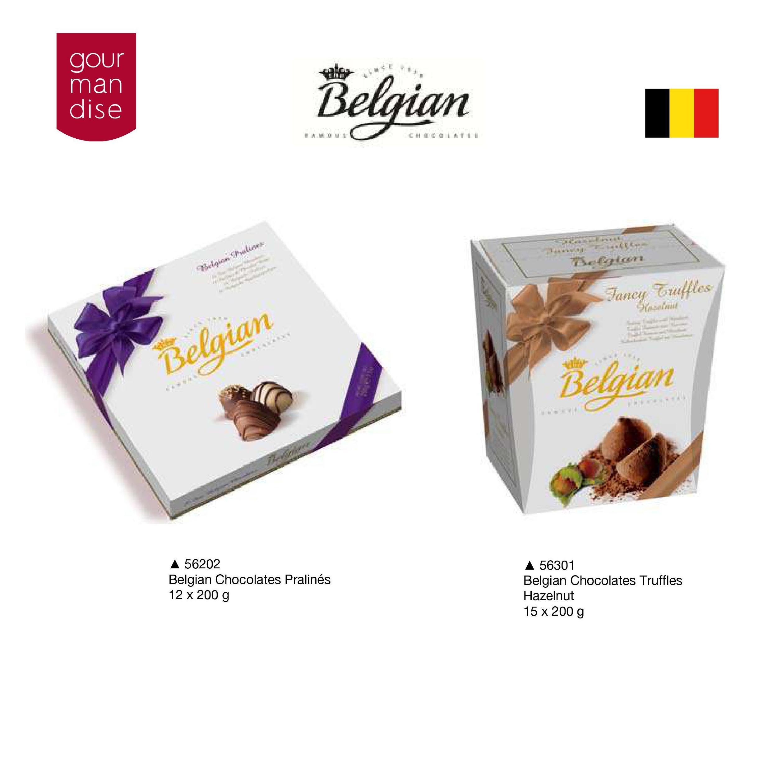Belgian Chocolate: Productos de Casa Bastida