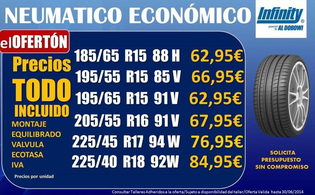 Oferta Neumáticos Económicos