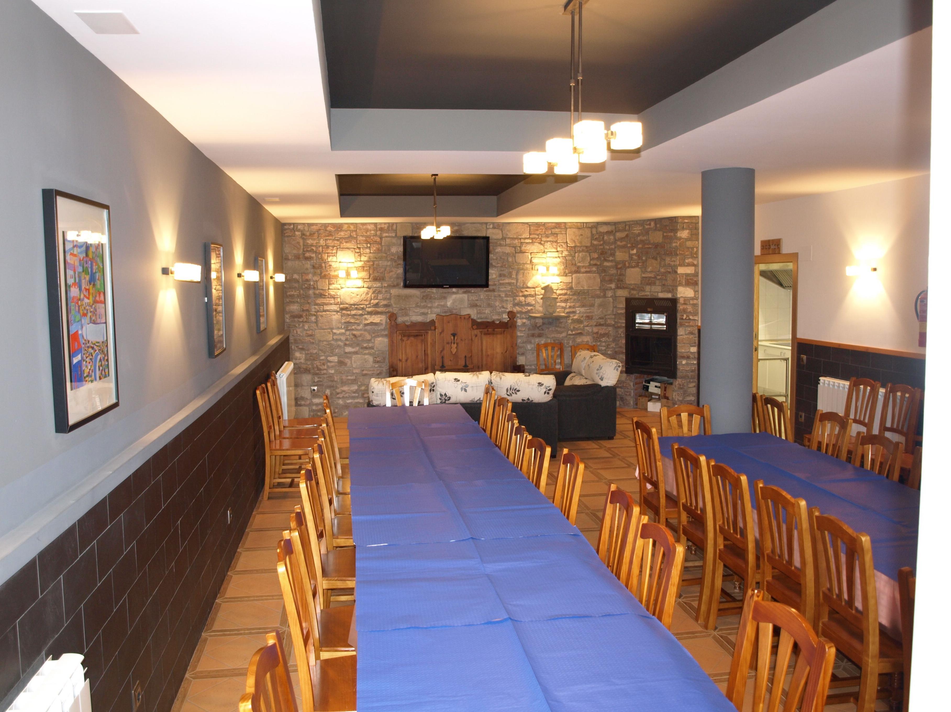 Stages deportivos, reuniones de empresa, talleres varios: Servicios e Instalaciones de Casa Rural El Churrón