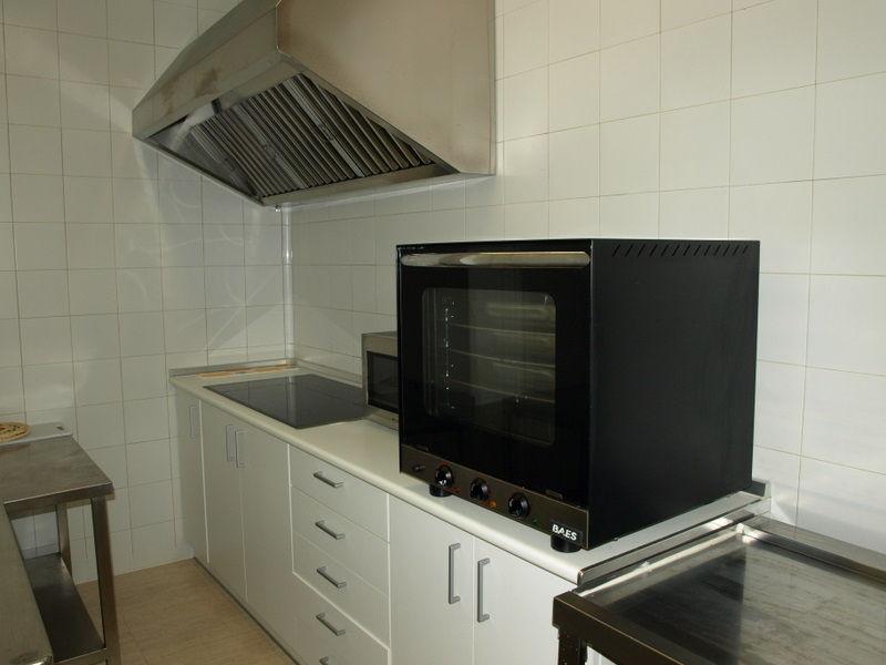 Cocina de la casa Rural El Churrón