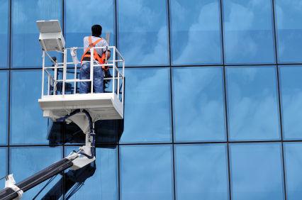 limpieza de fachadas en altura