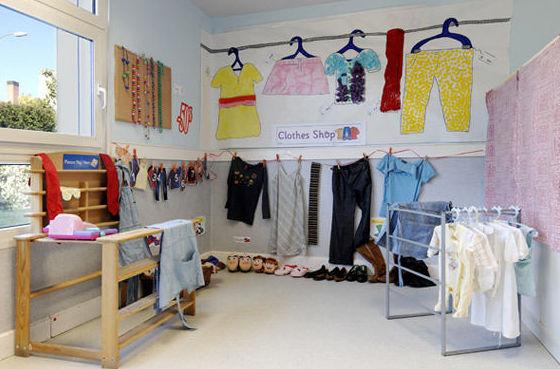 Salas de la escuela infantil