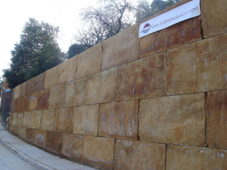 En Ecepa construimos muros de contención