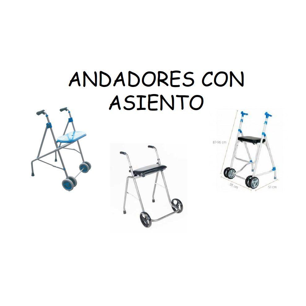 Andadores con asiento: Catálogo de Ortopedia Bentejui