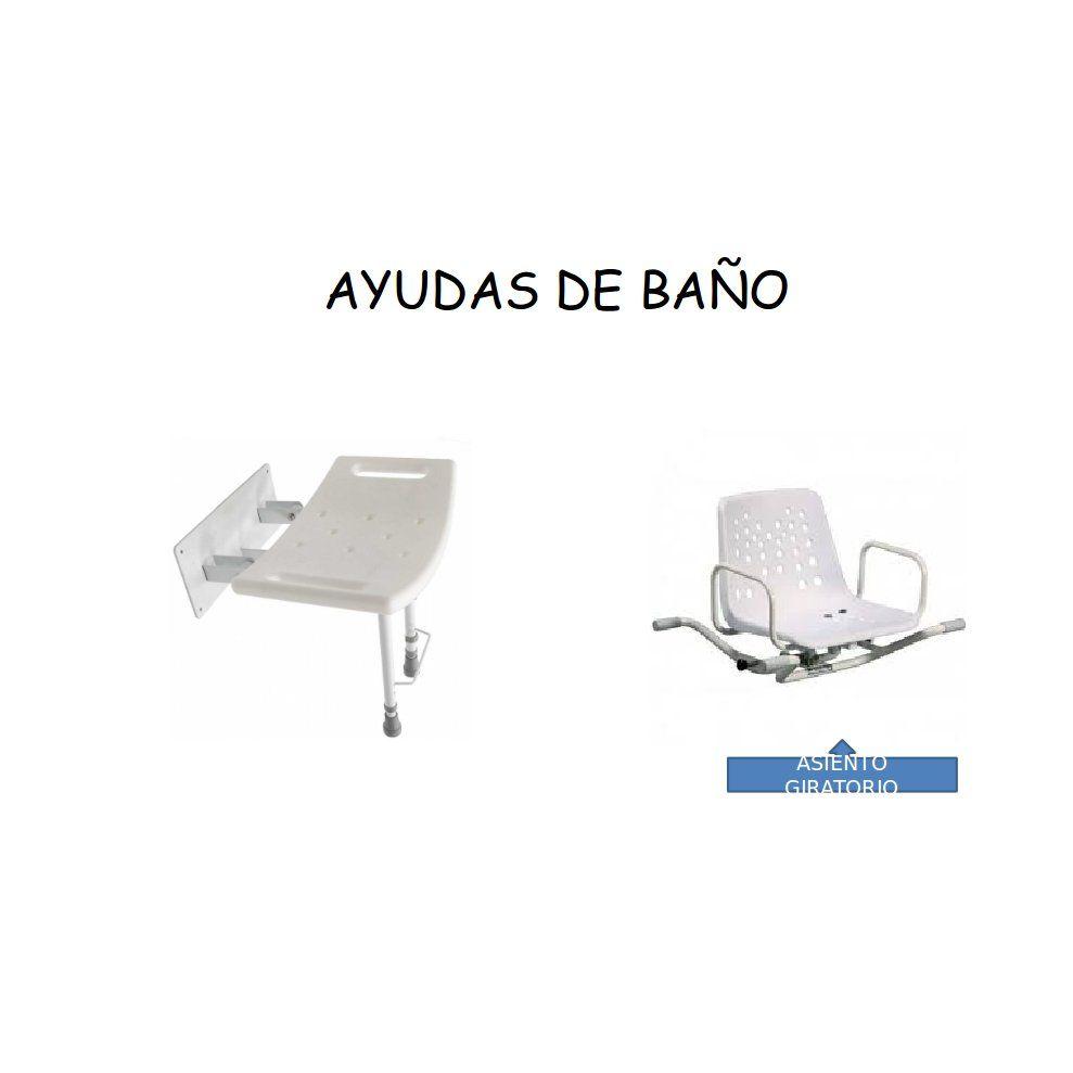 Ayudas de baño: Catálogo de Ortopedia Bentejui