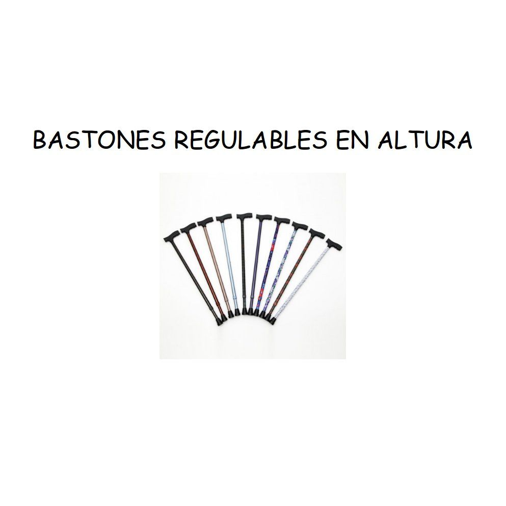Bastones regulables en altura: Catálogo de Ortopedia Bentejui
