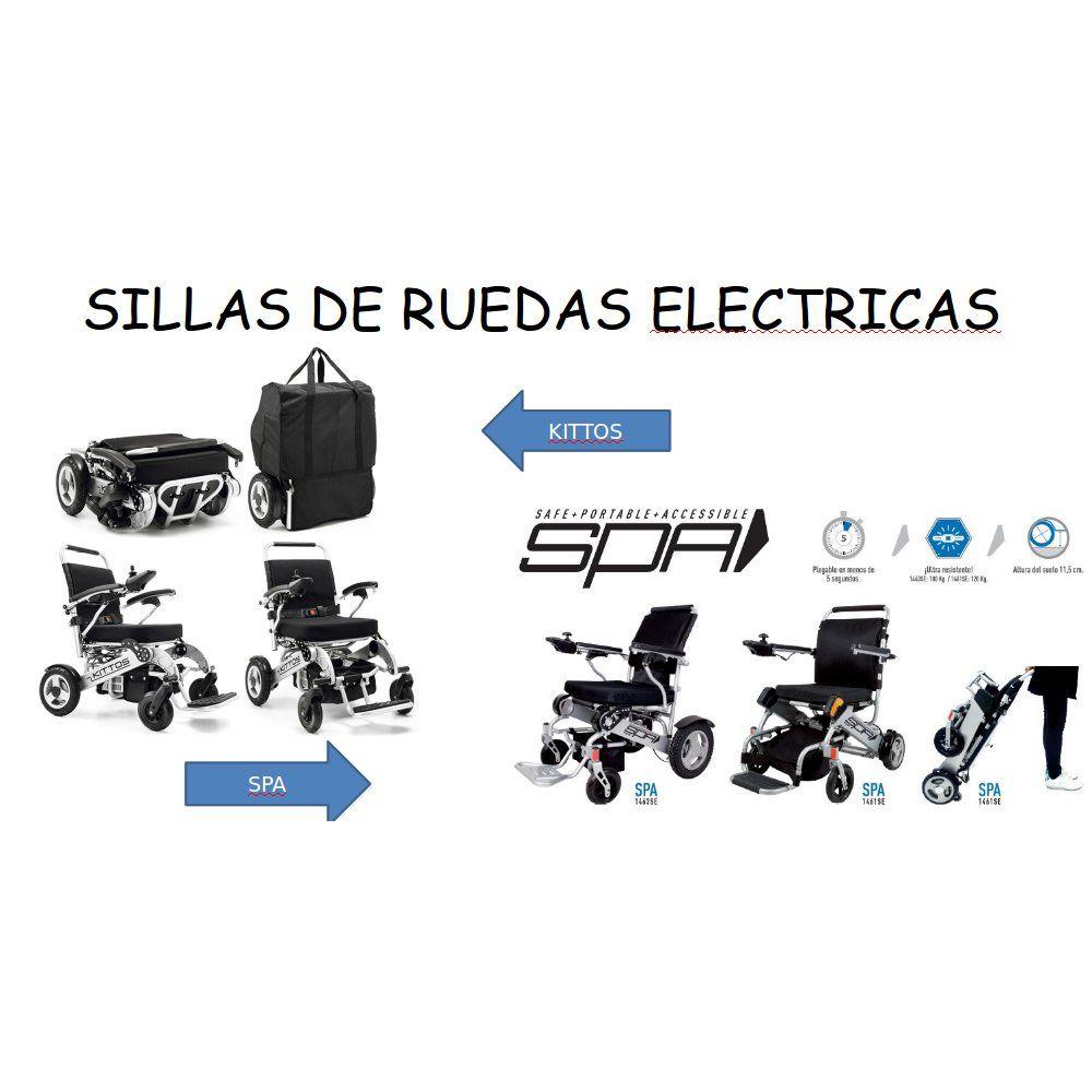 Sillas de ruedas eléctricas: Catálogo de Ortopedia Bentejui