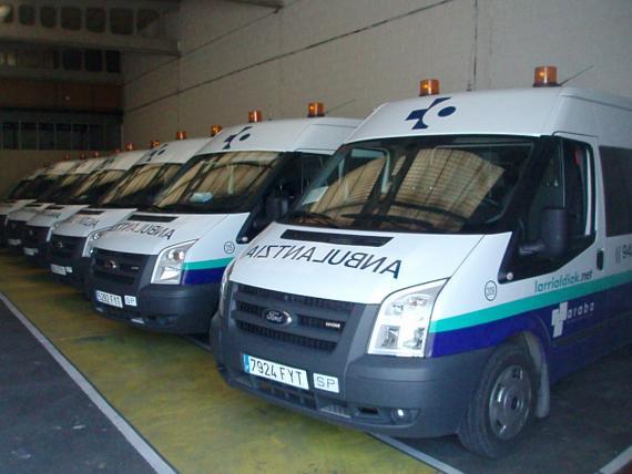Una flota de ambulancias con total garantía