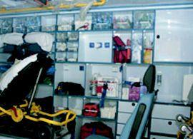 Ambulancias totalmente equipadas
