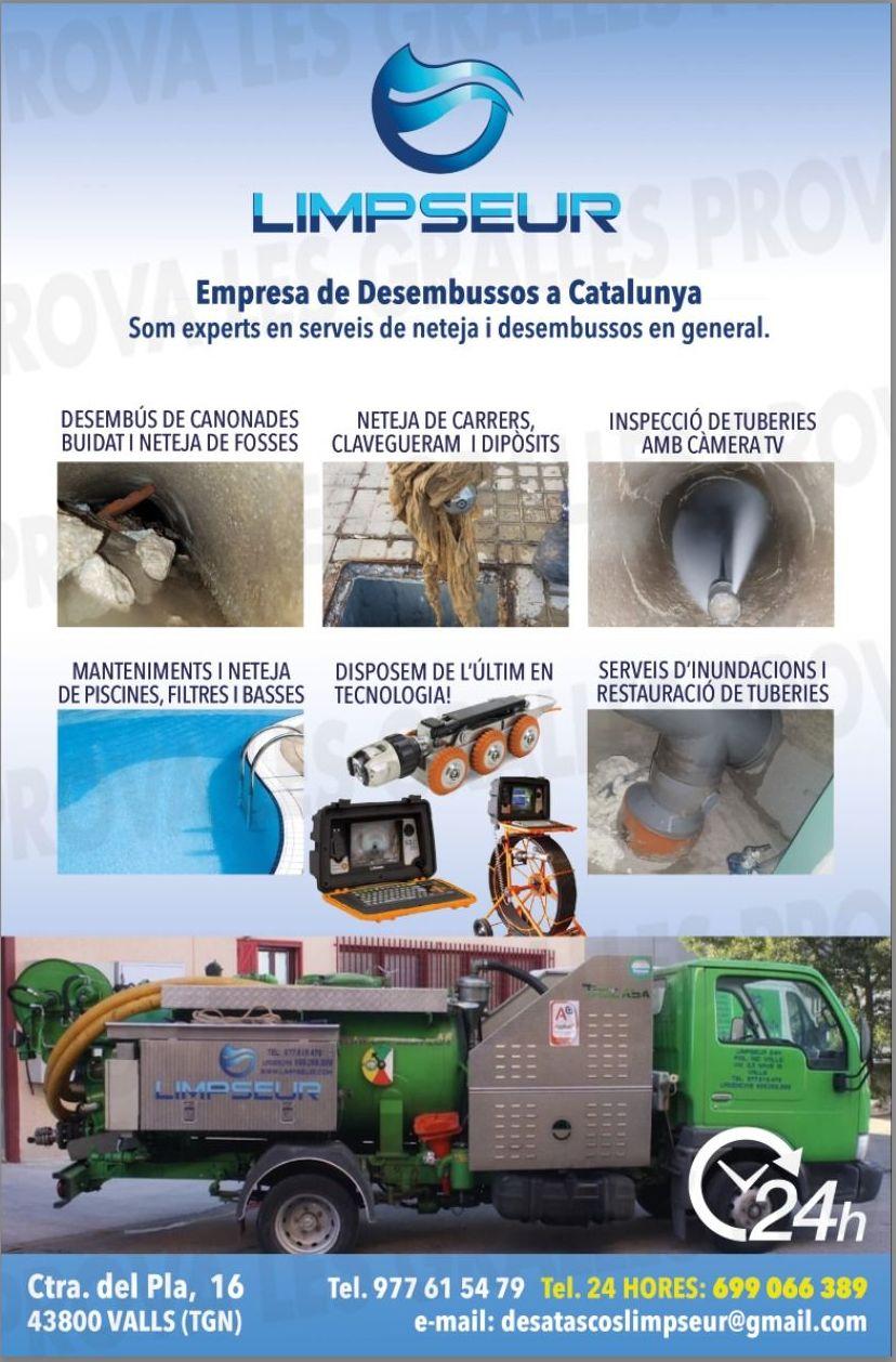 Empresa de Desembussos a Catalunya. Experts en serveis de neteja i desembussos en general