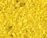 Arena de mármol pigmentada amarilla