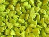 Triturado pigmentado en color pistacho