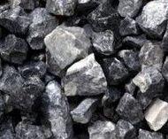Piedra natural triturada, decorativa y de color gris