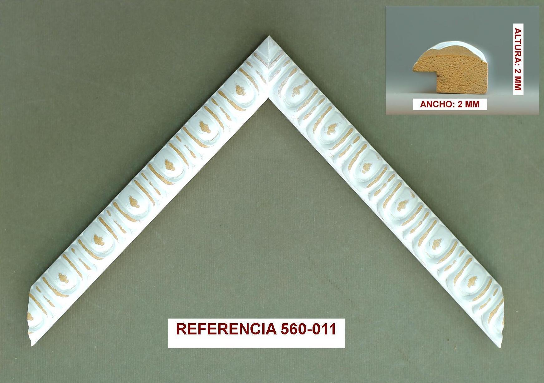 REF 560-011: Muestrario de Moldusevilla