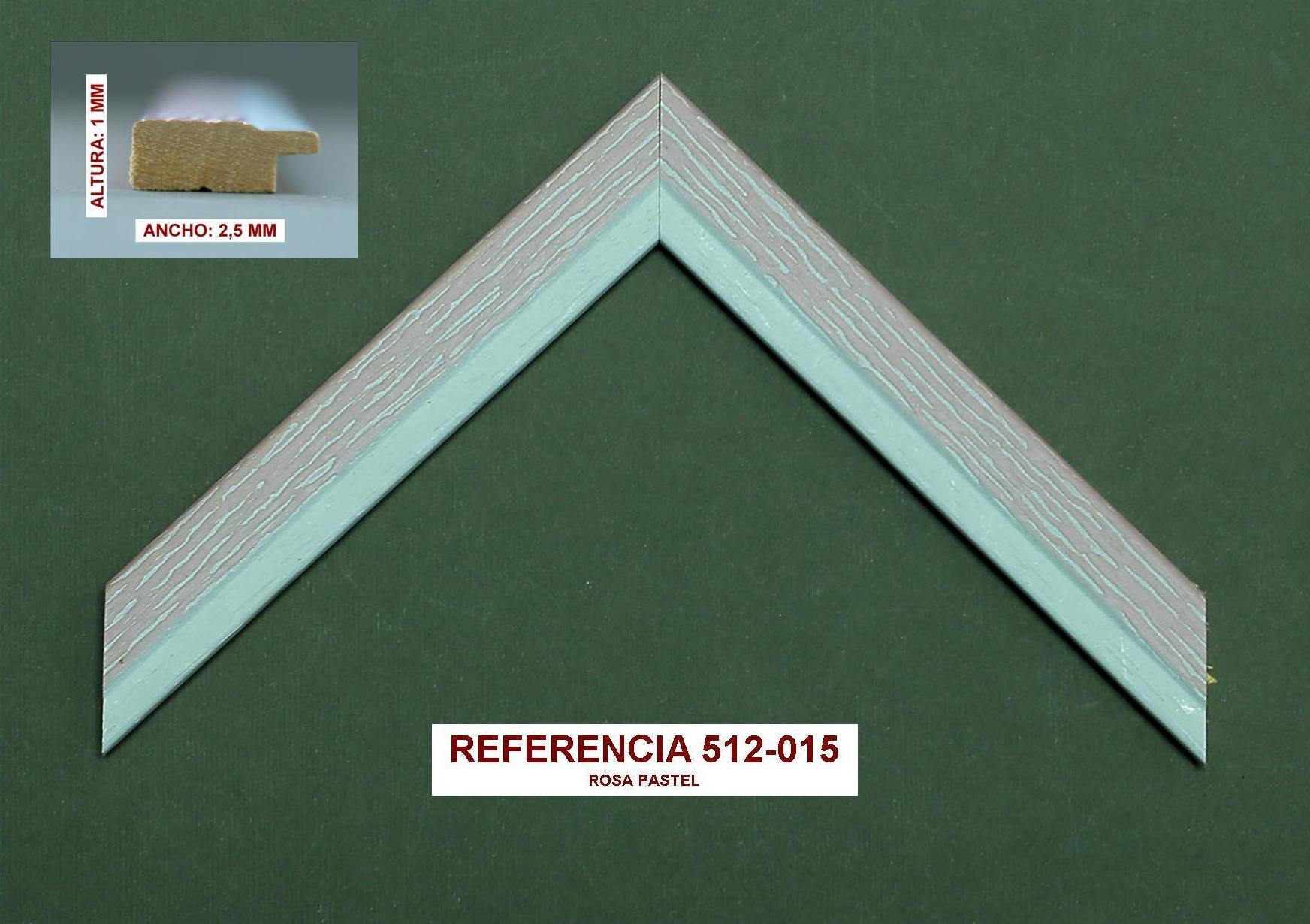 REF 512-015: Muestrario de Moldusevilla