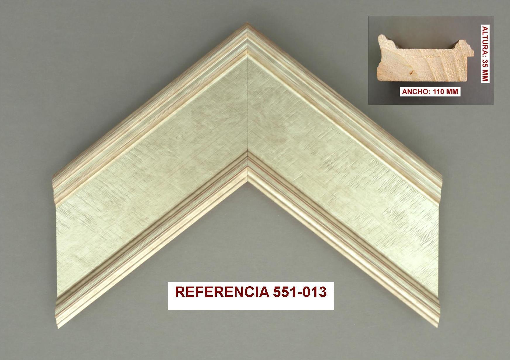 REF 551-013: Muestrario de Moldusevilla