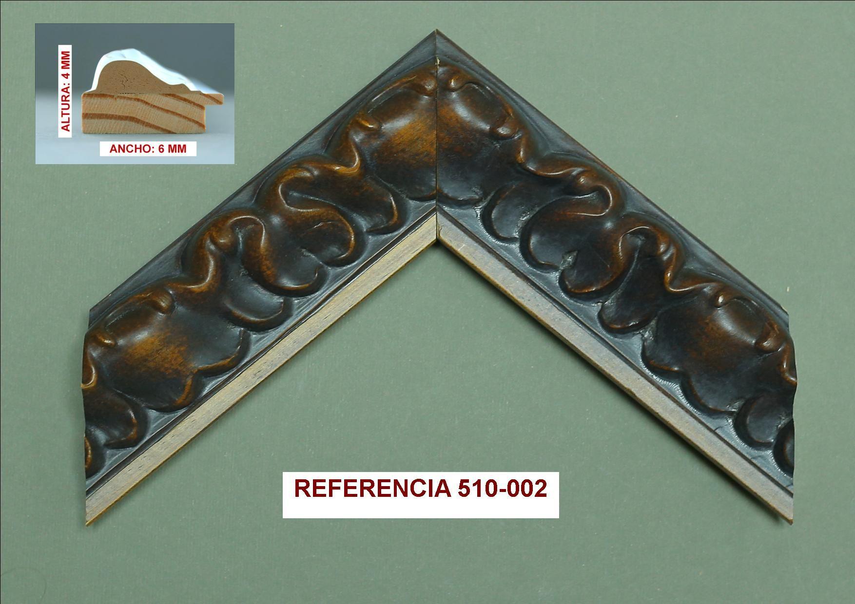 Referencia 510-002: Muestrario de Moldusevilla