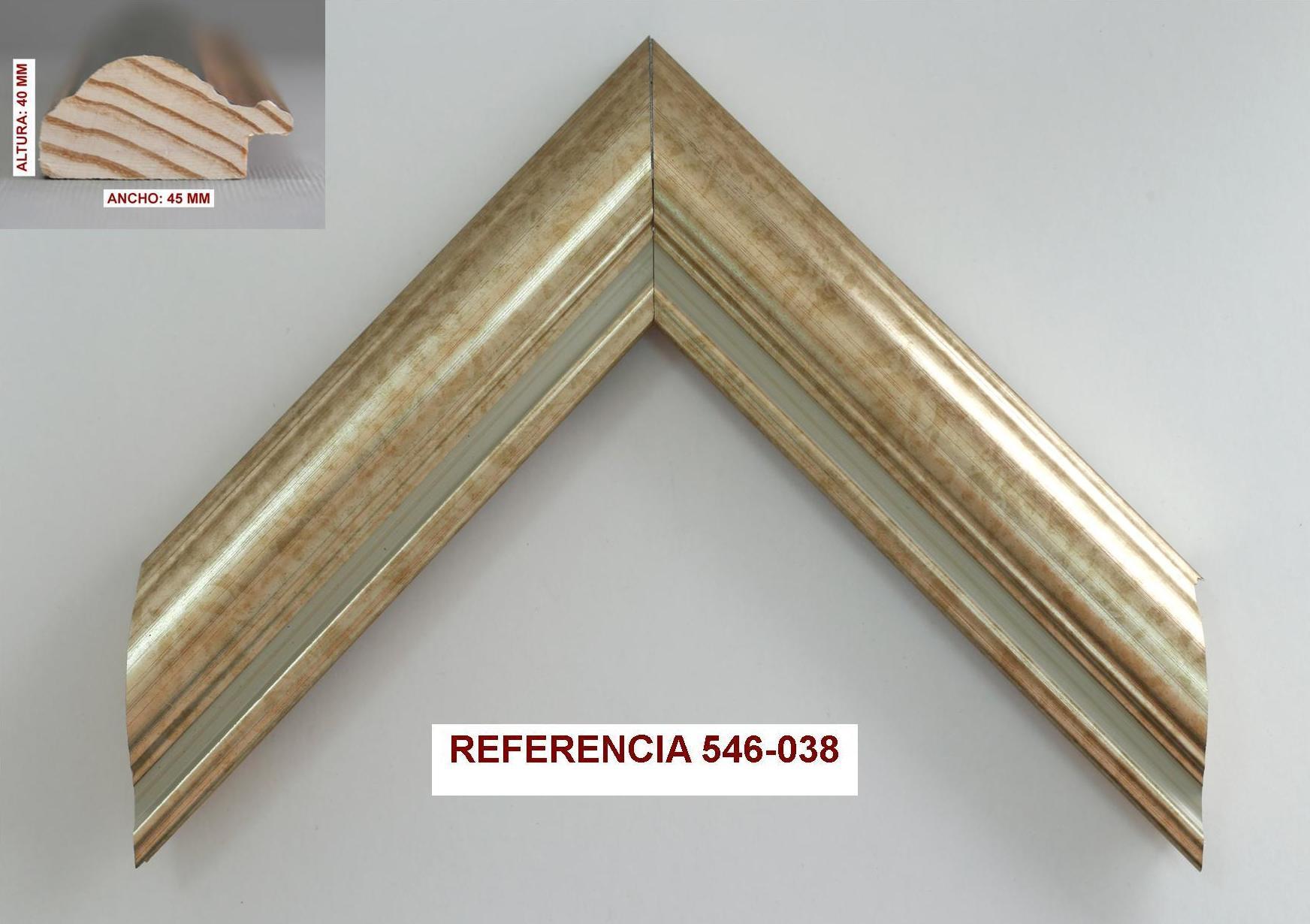 REF 546-038: Muestrario de Moldusevilla