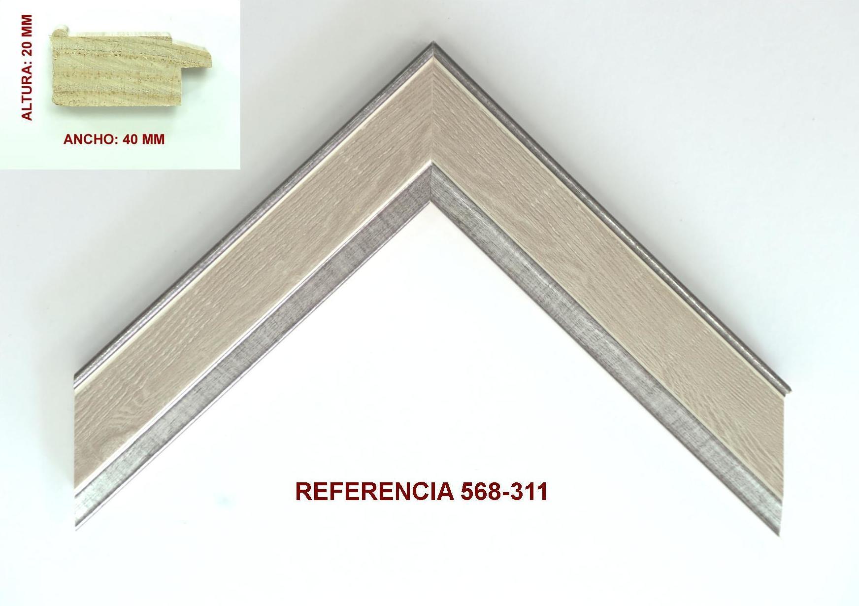 REF 568-311: Muestrario de Moldusevilla