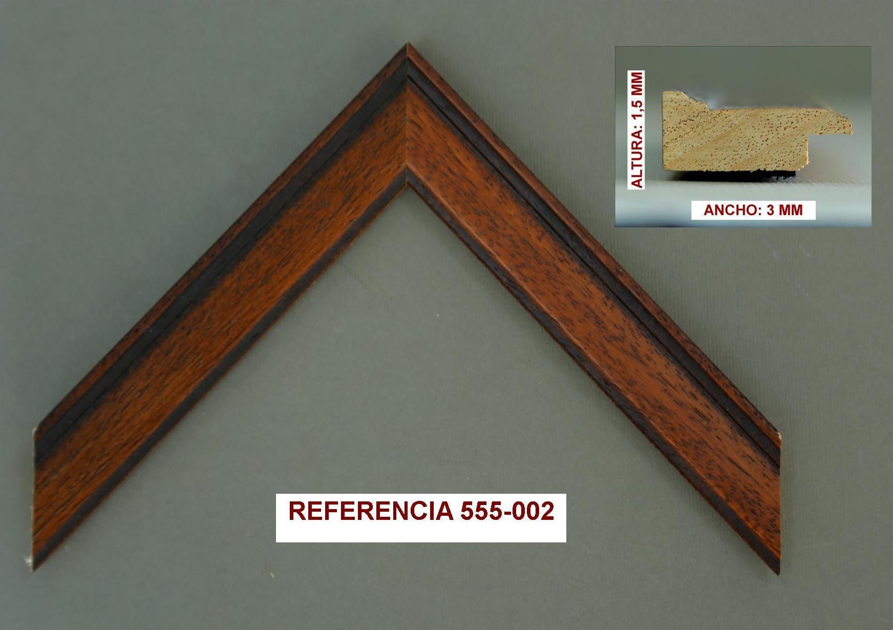 REF 555-002: Muestrario de Moldusevilla
