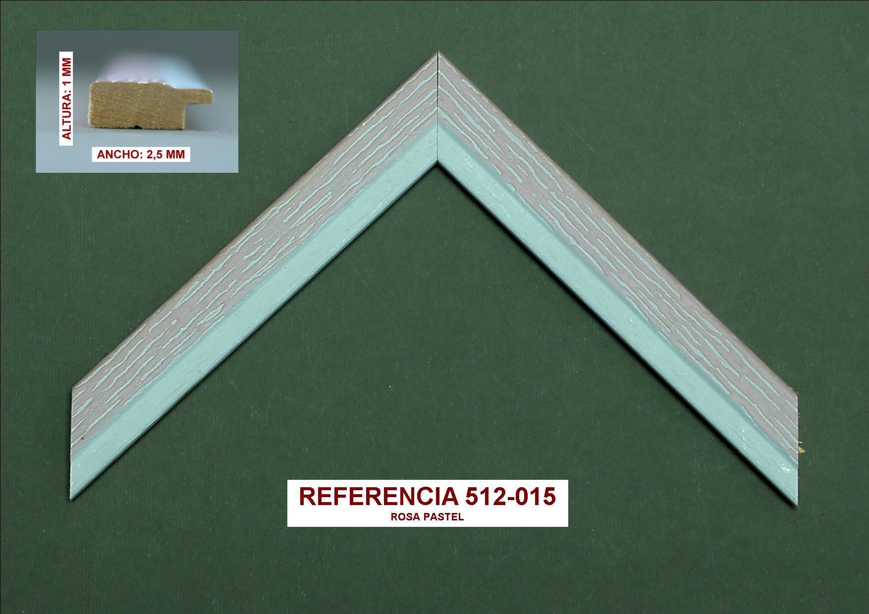 Referencia 512-015: Muestrario de Moldusevilla