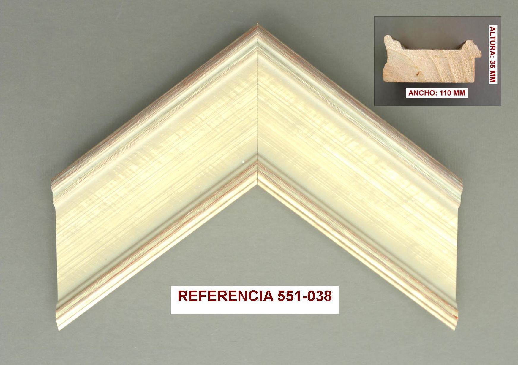 REF 551-038: Muestrario de Moldusevilla