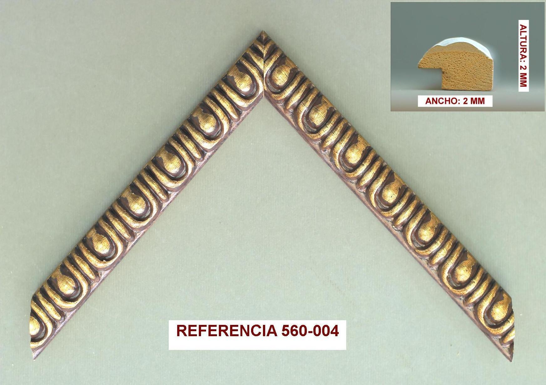 REF 560-004: Muestrario de Moldusevilla