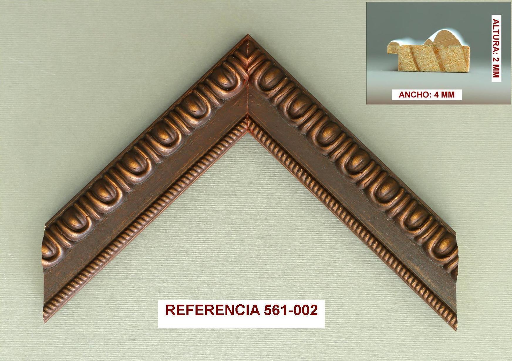 REF 561-002: Muestrario de Moldusevilla