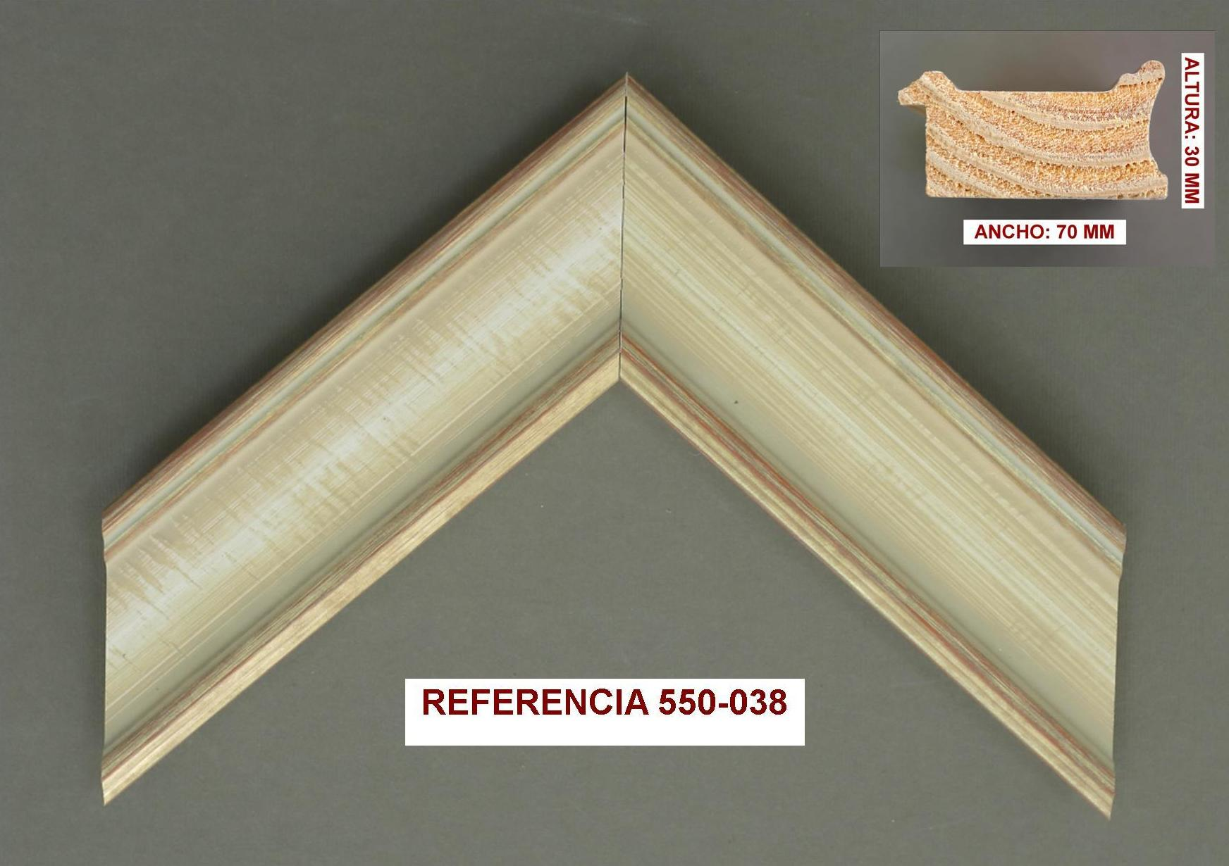 REF 550-038: Muestrario de Moldusevilla