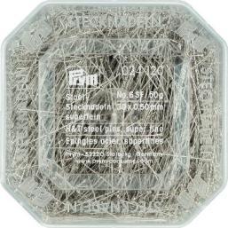 Alfileres acero templado 30x0,50mm