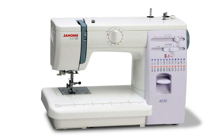 Máquina de coser mecánica Janome 423S