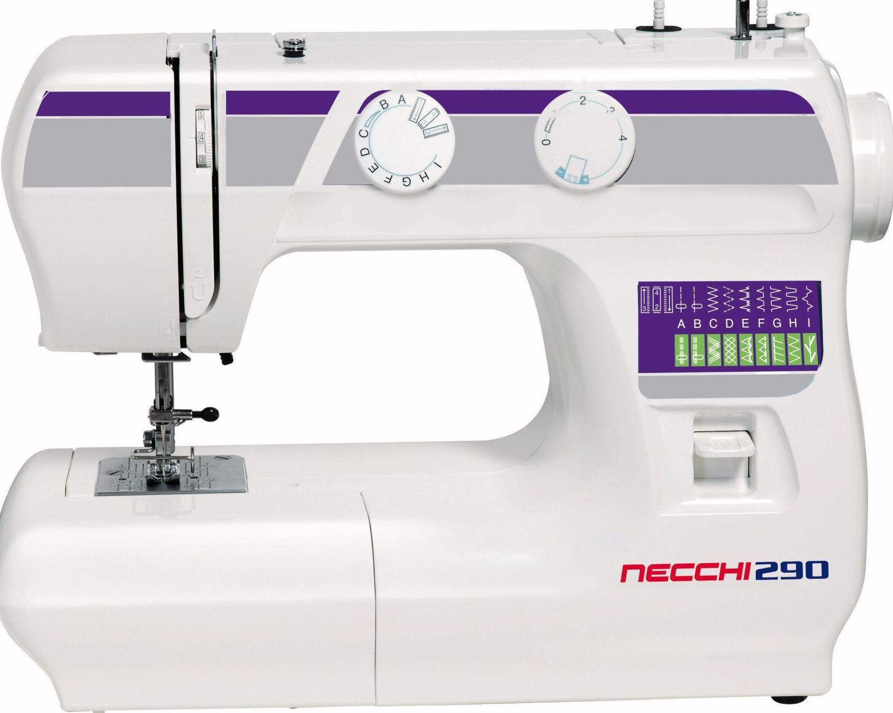 Máquina de coser Sigma Necchi modelo 290