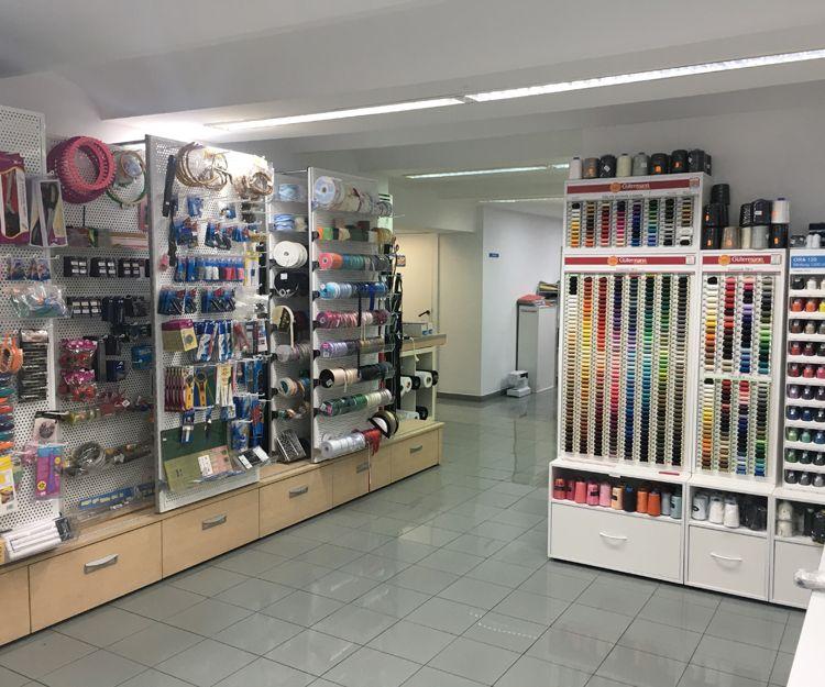 Tienda de productos de mercería en Barcelona
