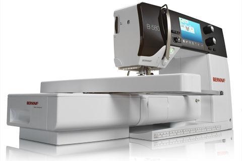 Máquina de coser Bernina serie 5 580 + módulo de bordar