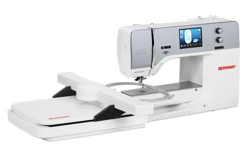Máquina de coser Bernina serie 7 750 QE + módulo de bordar