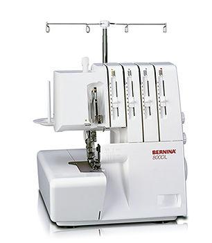 Máquina de coser Overlock-Recubridora Berninae 800 DL