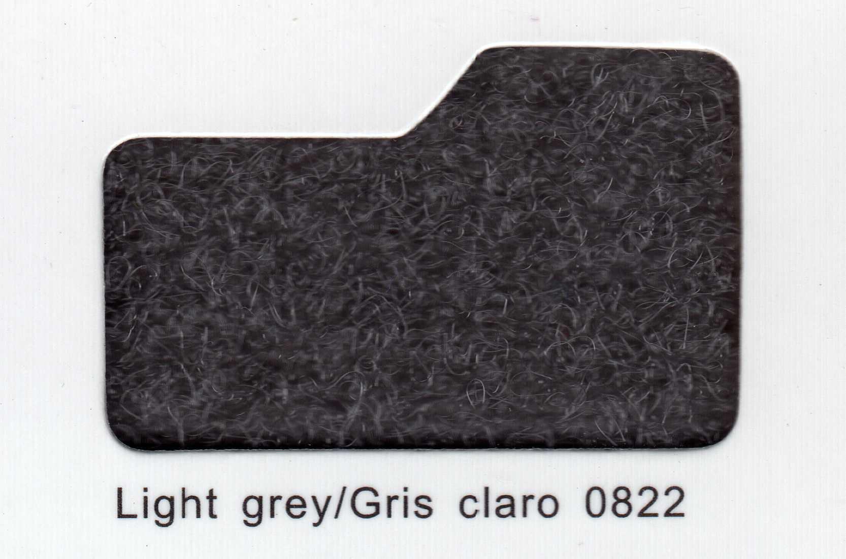 Cinta de cierre Velcro-Veraco 50mm Gris Claro 0822 (Rizo).