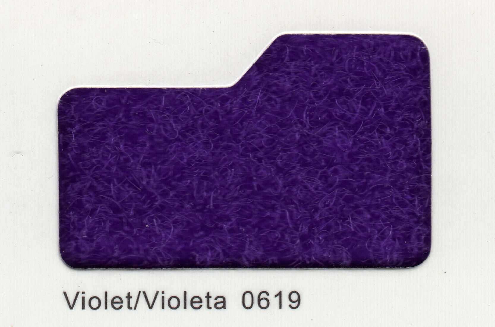Cinta de cierre Velcro-Veraco 50mm Violeta 0619 (Rizo).