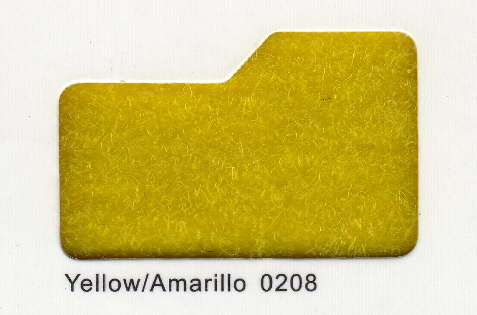 Cinta de cierre Velcro-Veraco 38mm Amarillo 0208 (Gancho).