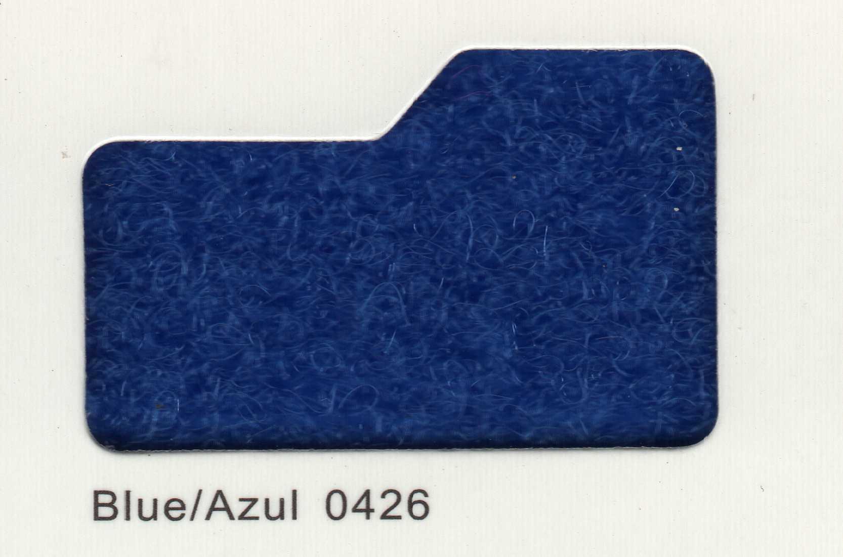 Cinta de cierre Velcro-Veraco 100mm Azul 0426 (Rizo).