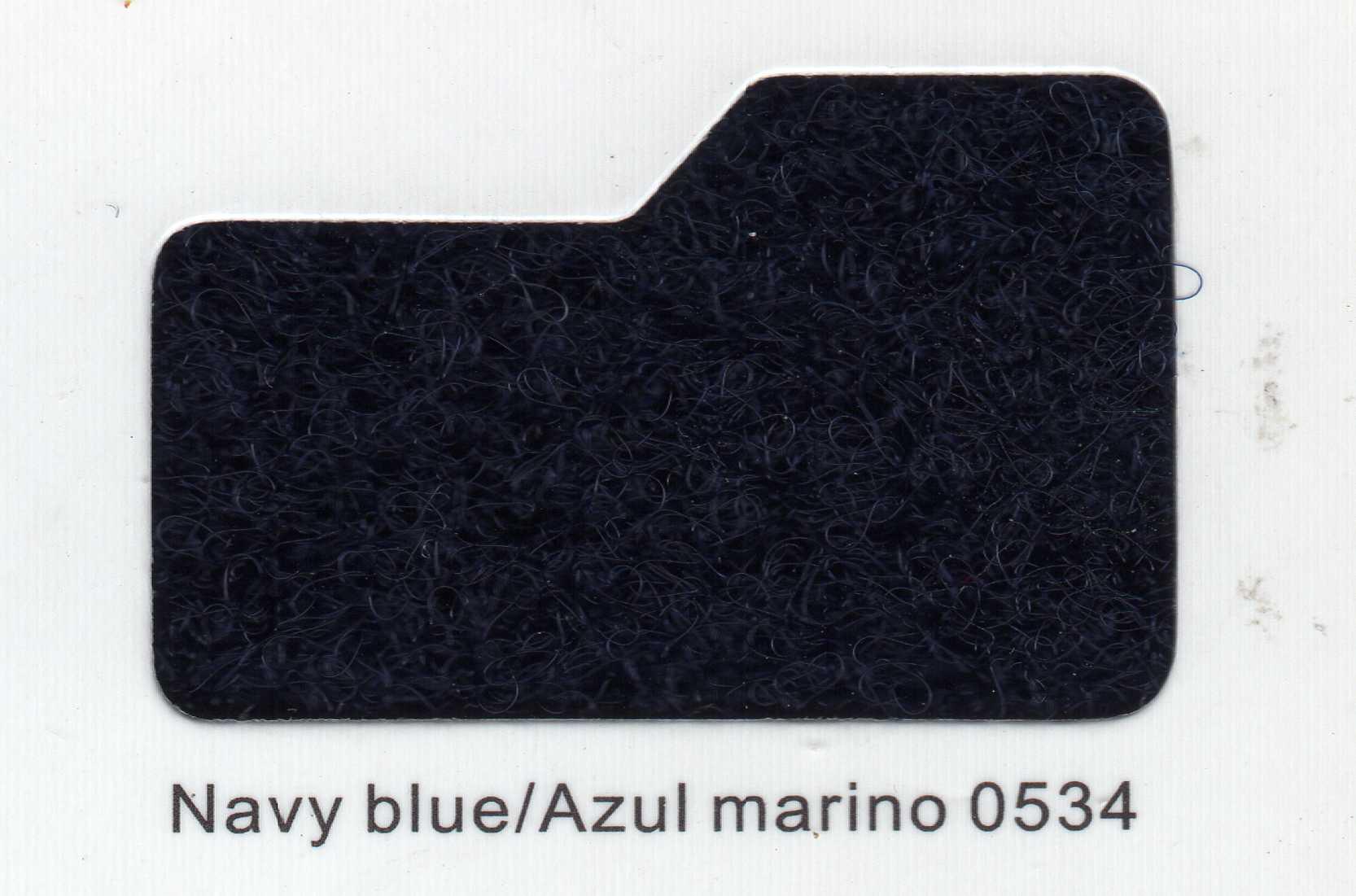 Cinta de cierre Velcro-Veraco 50mm Azul Marino 0534 (Rizo).
