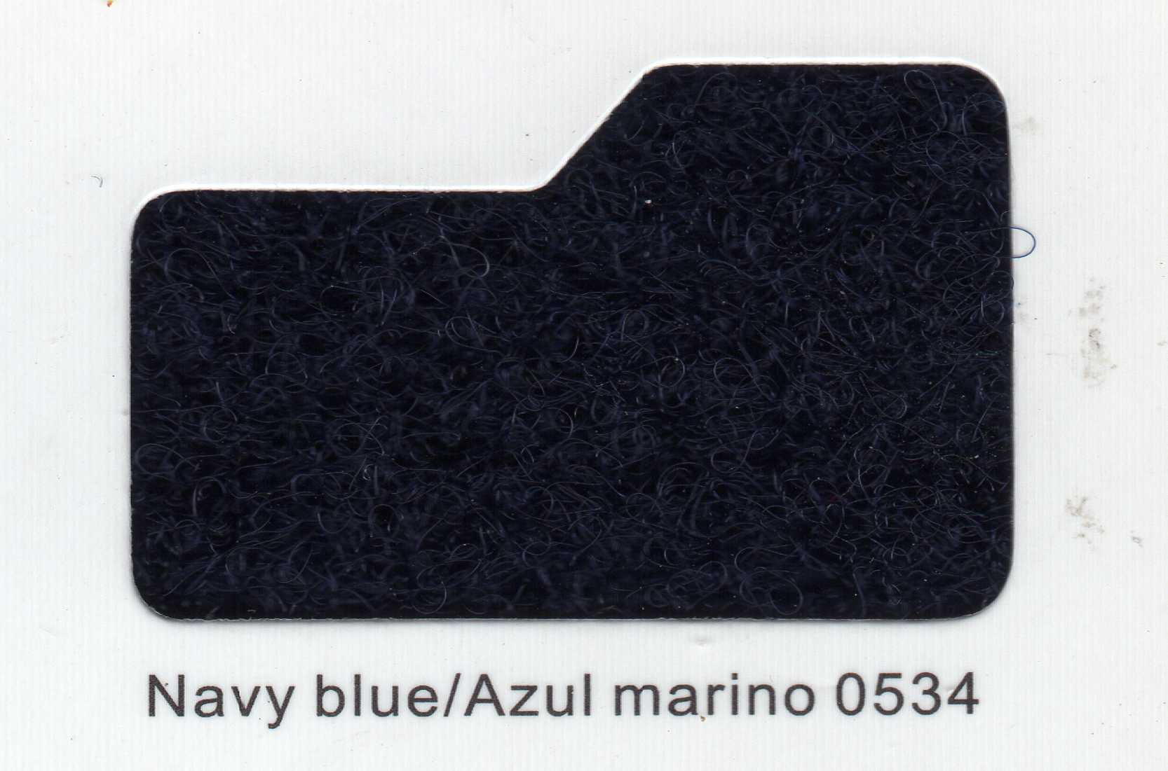 Cinta de cierre Velcro-Veraco 100mm Azul Marino 0534 (Rizo).