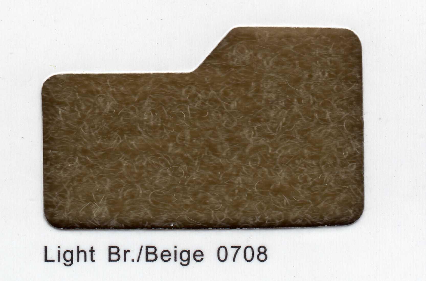 Cinta de cierre Velcro-Veraco 50mm Beige 0708 (Rizo).