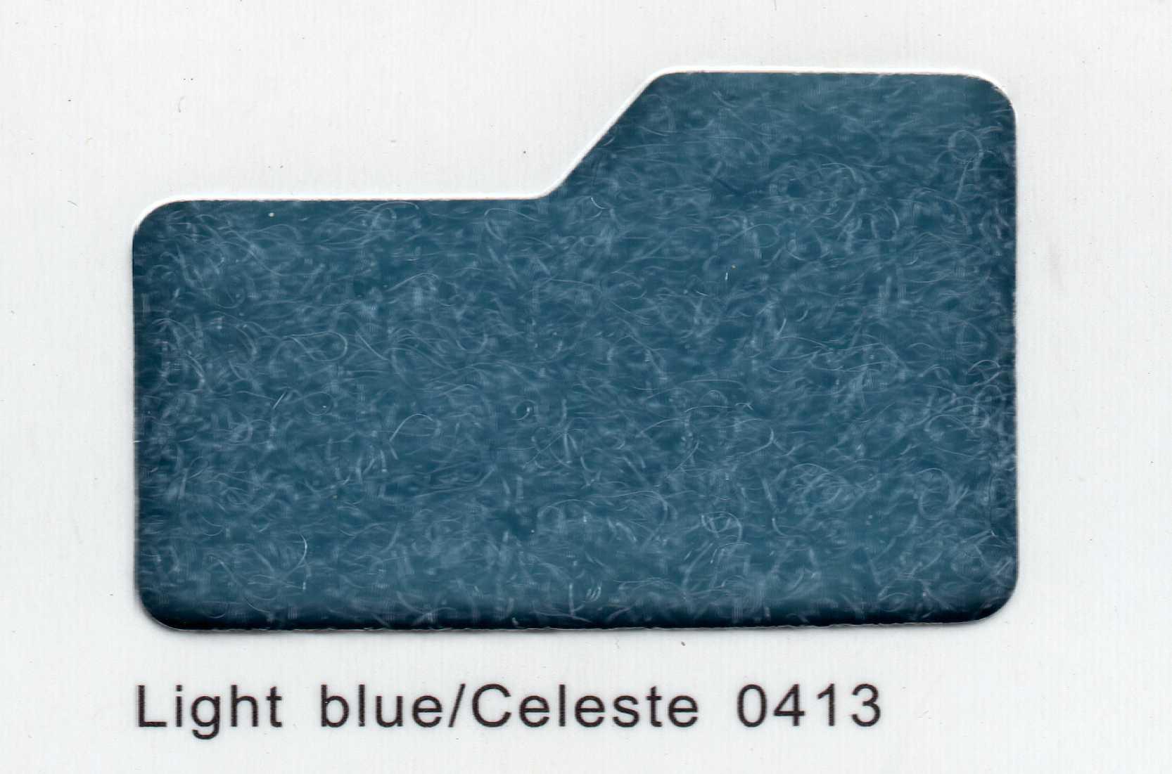 Cinta de cierre Velcro-Veraco 100mm Celeste 0413 (Rizo).