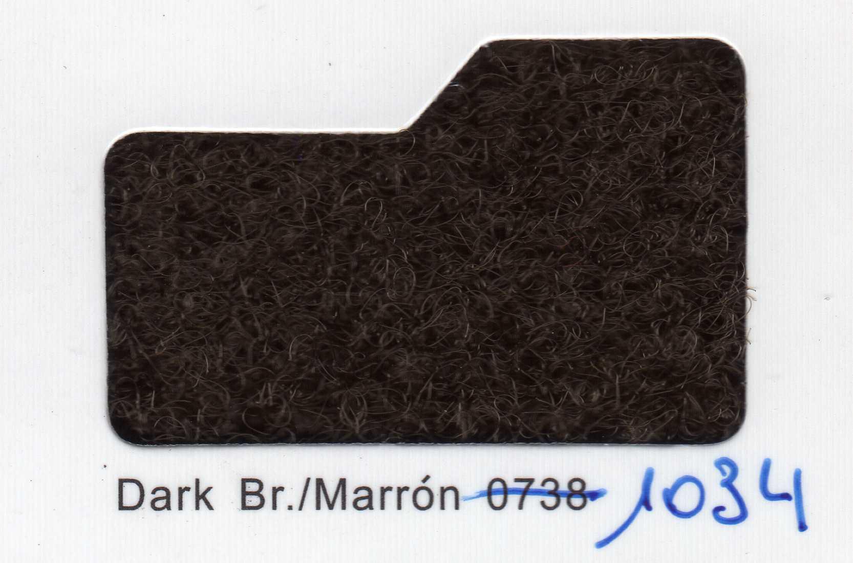 Cinta de cierre Velcro-Veraco 38mm Marrón 1034 (Rizo).