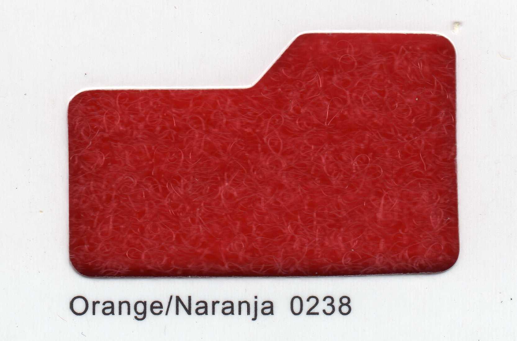 Cinta de cierre Velcro-Veraco 100mm Naranja 0238 (Gancho).