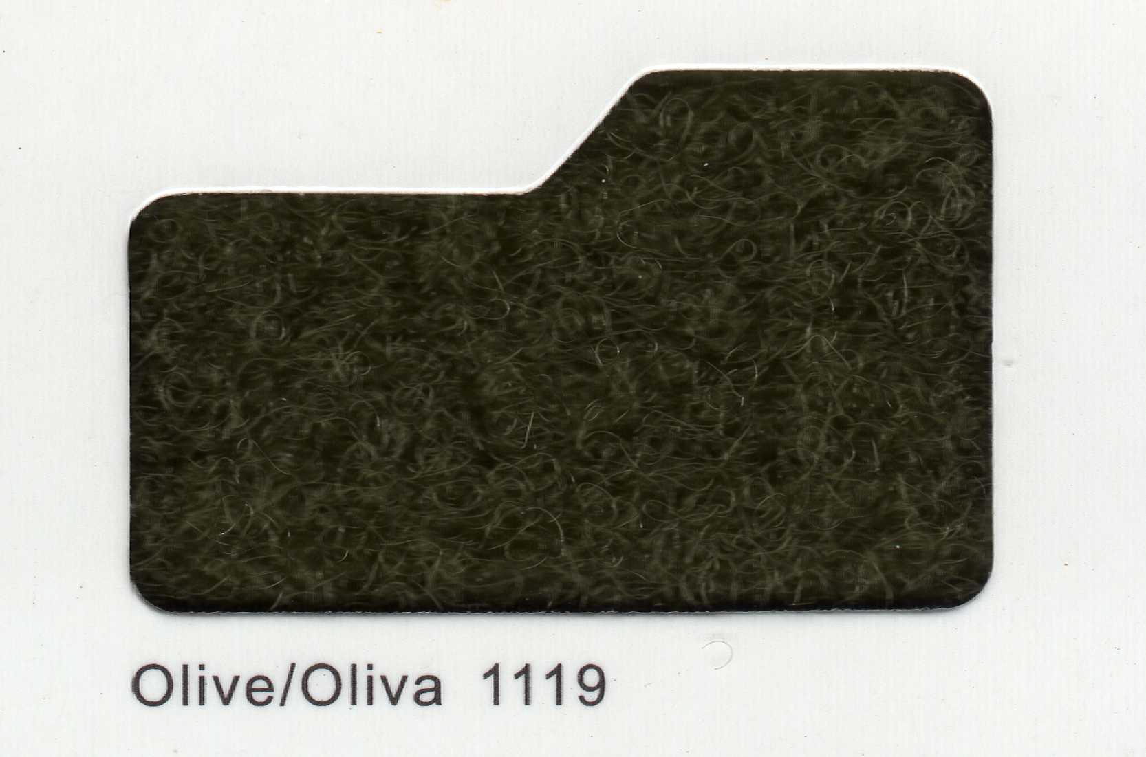 Cinta de cierre Velcro-Veraco 100mm Oliva 1119 (Gancho).