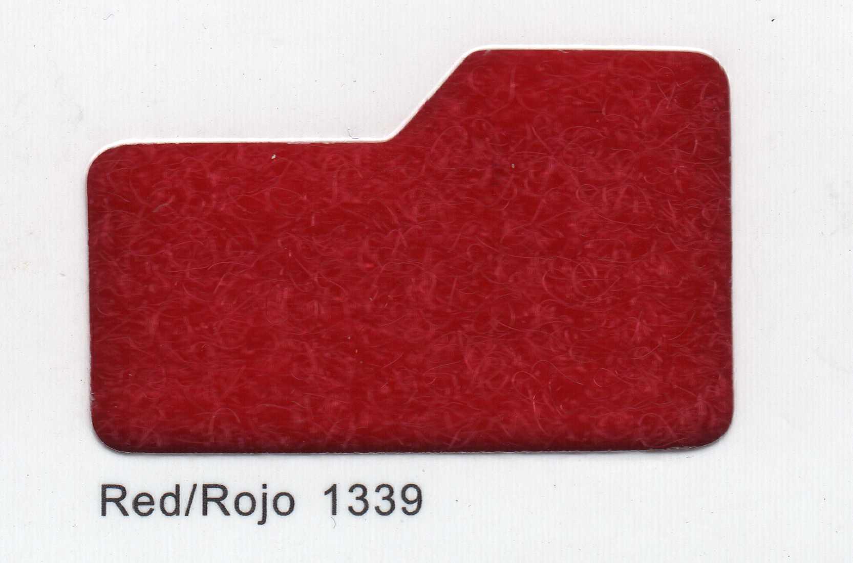 Cinta de cierre Velcro-Veraco 38mm Rojo 1339 (Gancho).