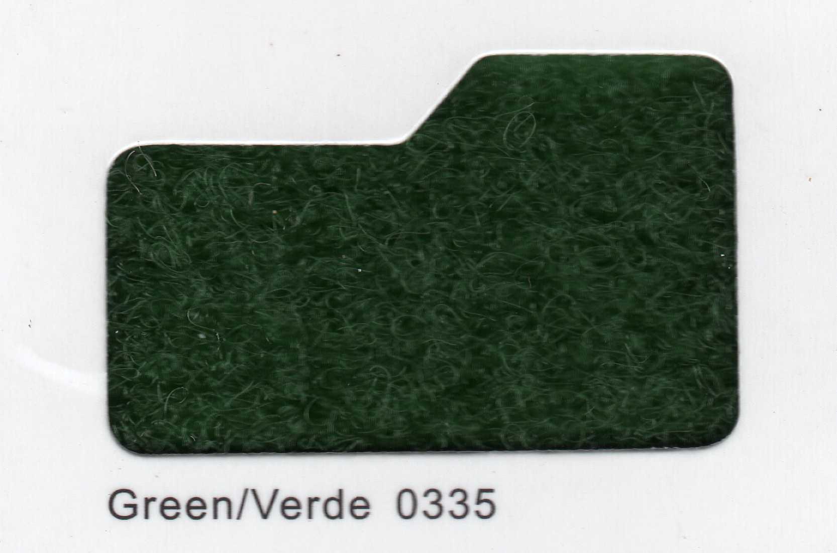 Cinta de cierre Velcro-Veraco 38mm Verde 0335 (Rizo).