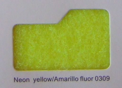 Cinta de cierre Velcro-Veraco 25mm Amarillo fluor 0309 (Gancho).